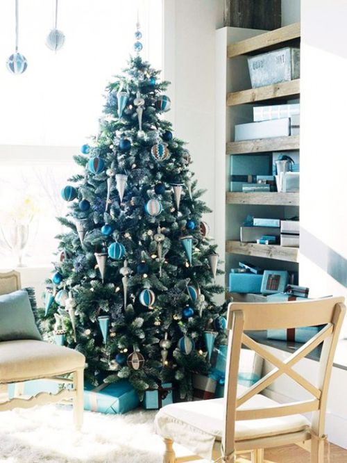 image detail for traditional christmas tree decor inspiration blue christmas decor