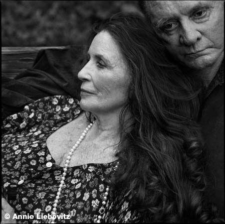 Johnny Cash And June Carter Cashannie Leibovitz Together