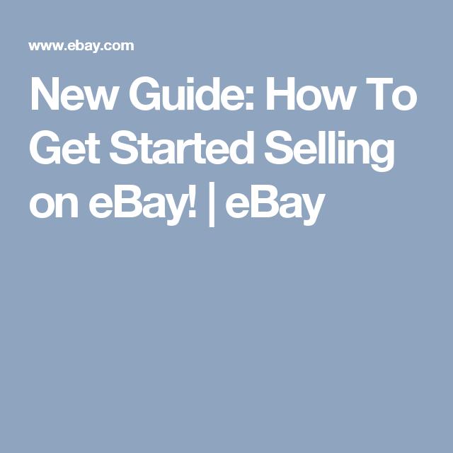Shop By Category Ebay Selling On Ebay Ebay Get Started