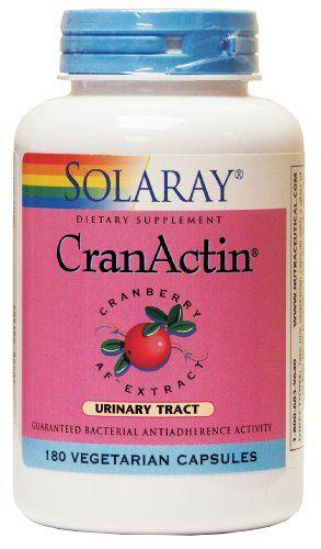 Amazon.com: CranActin Cranberry Extract No Alcohol - 180 - VegCap: Health & Personal Care