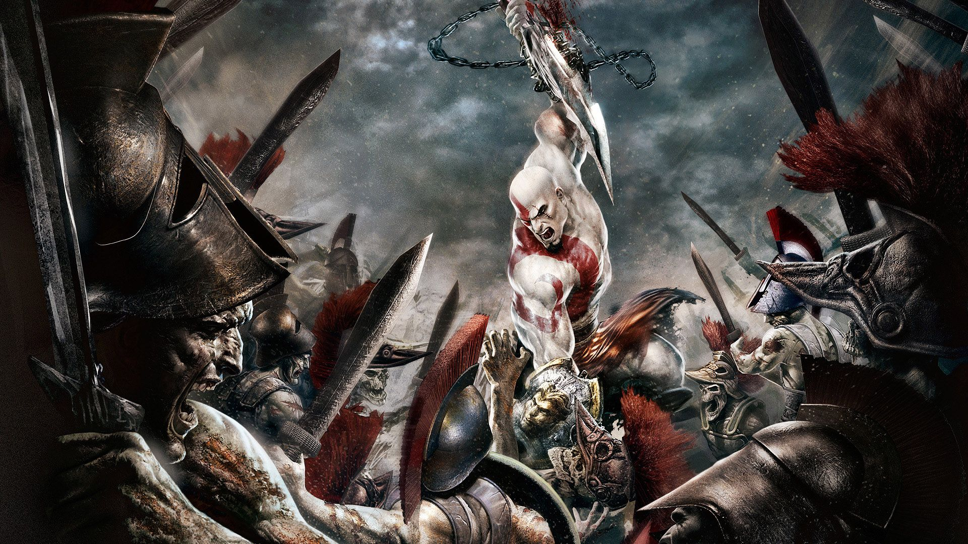 god of war hd desktop wallpaper high definition fullscreen