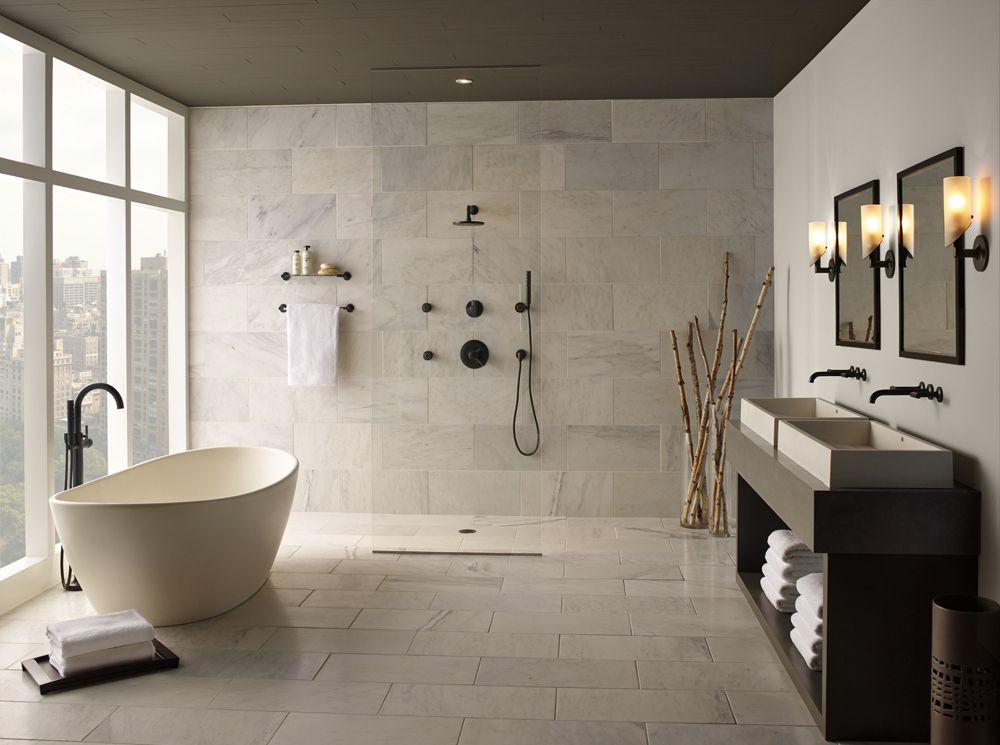 Create spa-like bathroom oasis at home (inspirational ideas ... on nature inspired dining rooms, nature inspired engagement rings, nature inspired home decor,