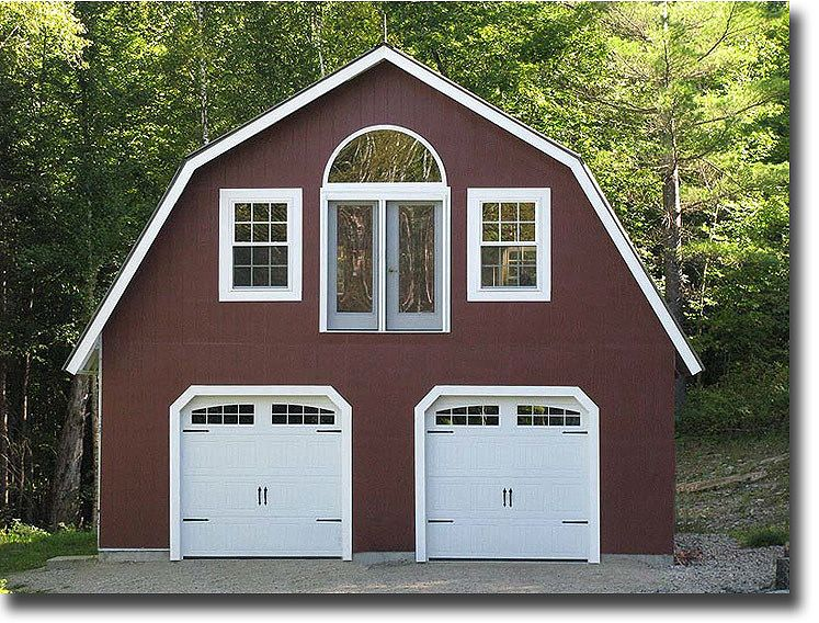 Gambrel barn photo tiny house plans pinterest for Gambrel style barns
