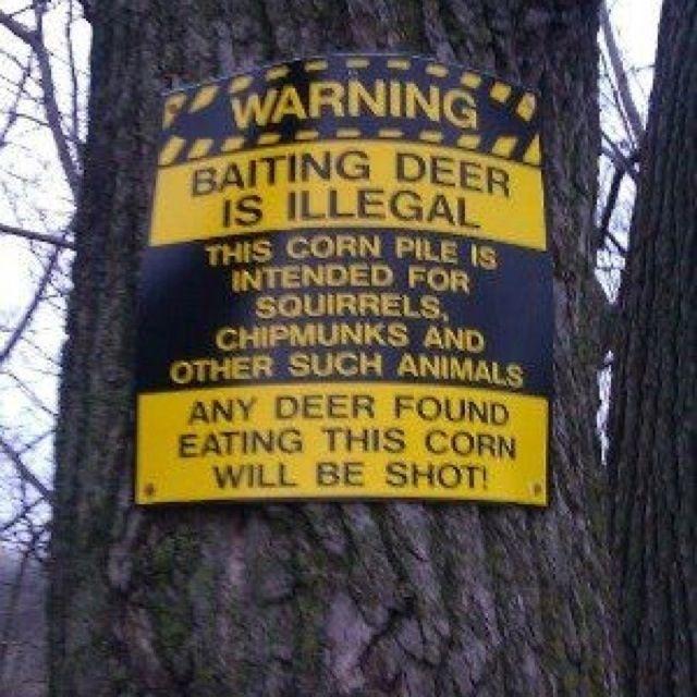 Redneck sign lol