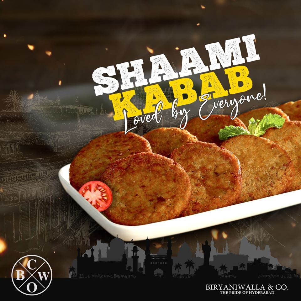 If You Are Hungry And On Job Then Head Over To Our Al Nahda Dubai Branch To Relish Delicious Shaami Kabab Biryaniwallaco Hyderaba In 2020 Delicious Biryani Food
