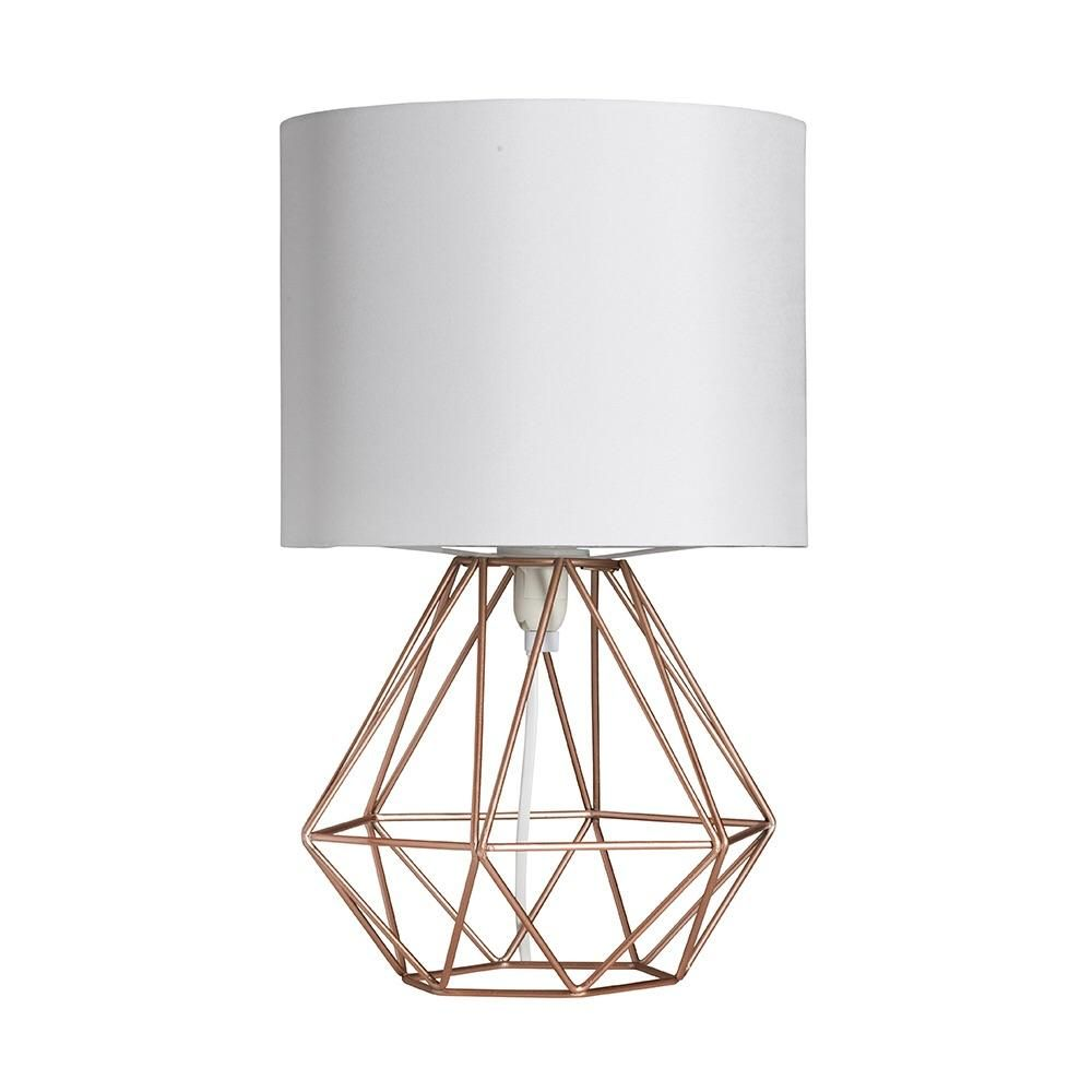 Awesome Geo Belly Table Lamp Copper Good Looking
