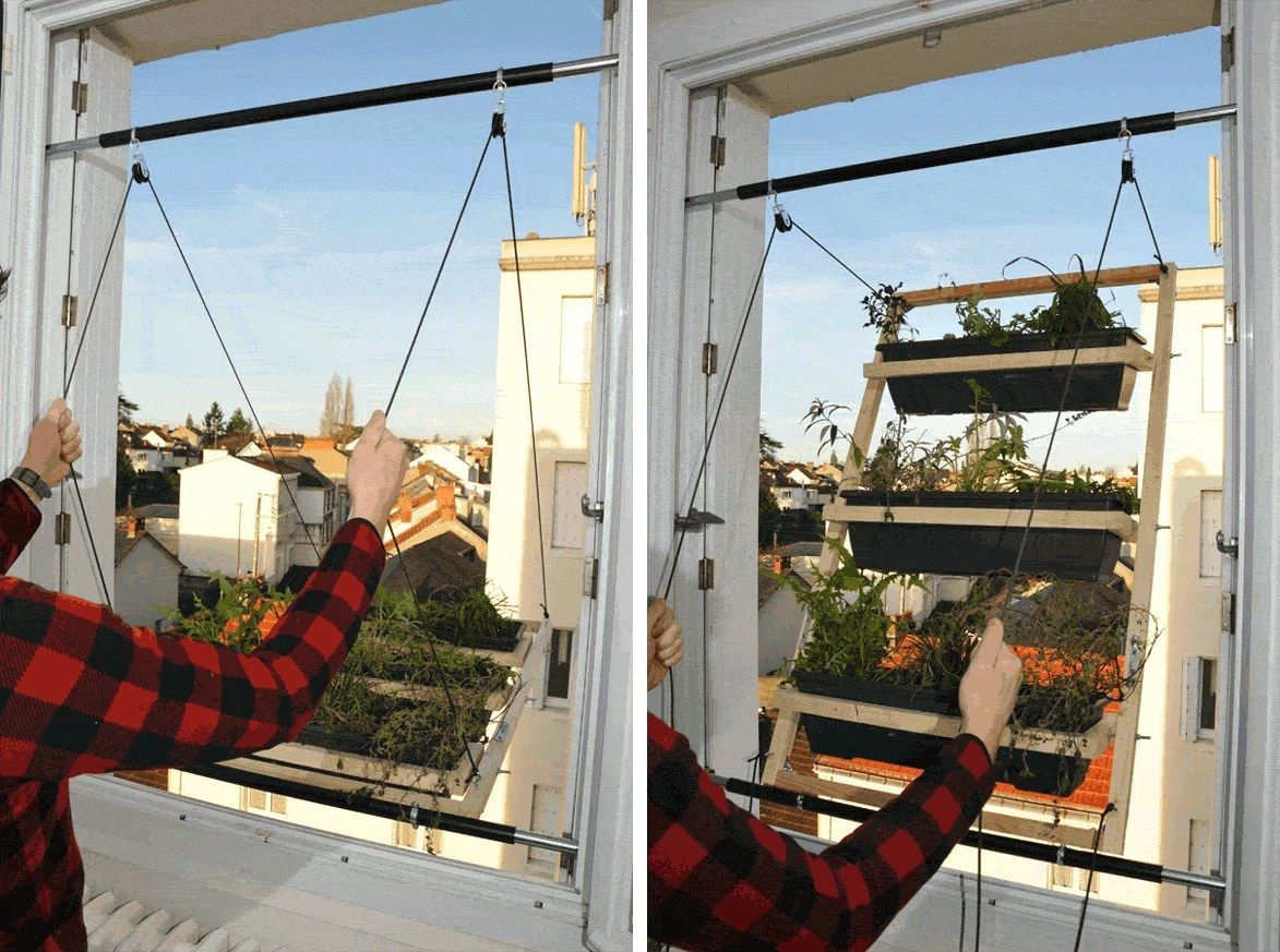 How To Make A Fold Out Window Garden  MY GOD THIS IS GENIUS!
