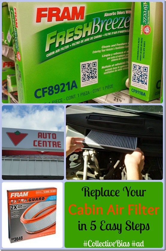 How to Replace Your Cabin Air Filter in 5 Easy Steps