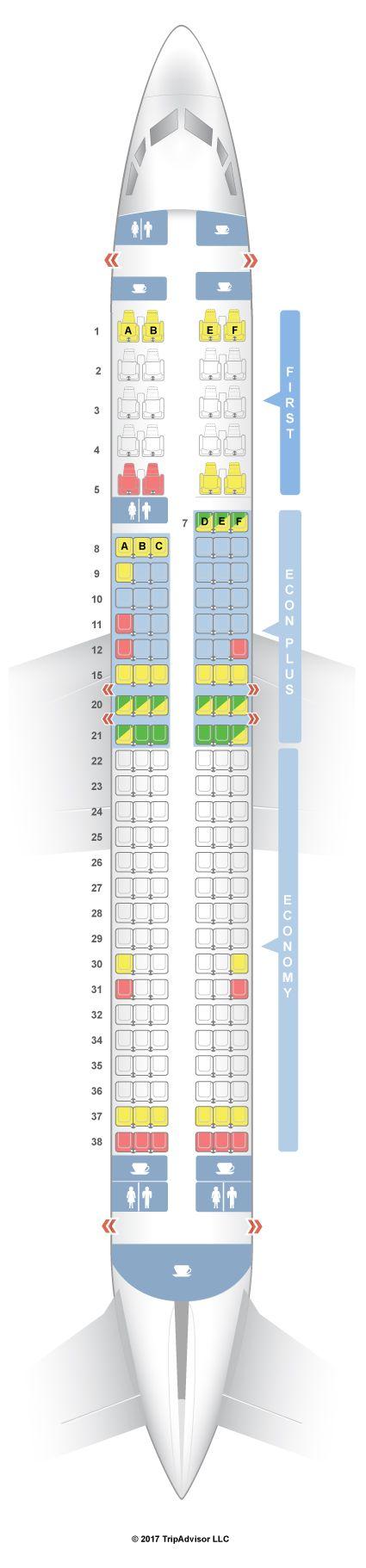 Seatguru Seat Map United Boeing 737 900 739 V1 V2 Seatguru Boeing Packing Tips For Travel