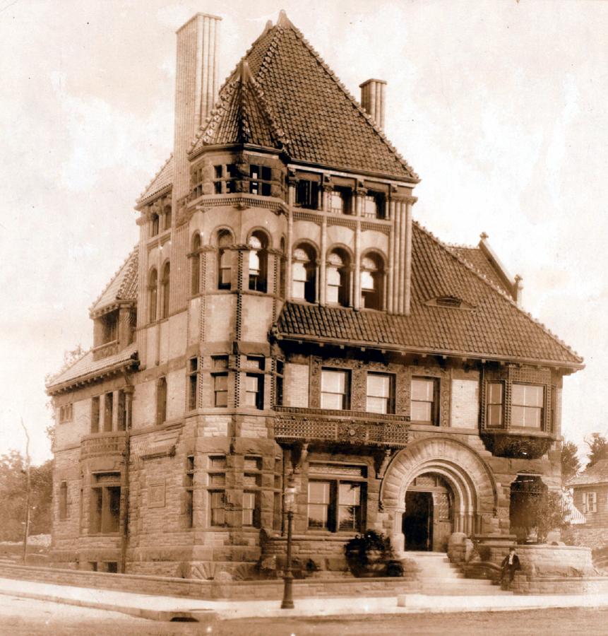 The Bayne Mansion On Riverside Drive, New York City