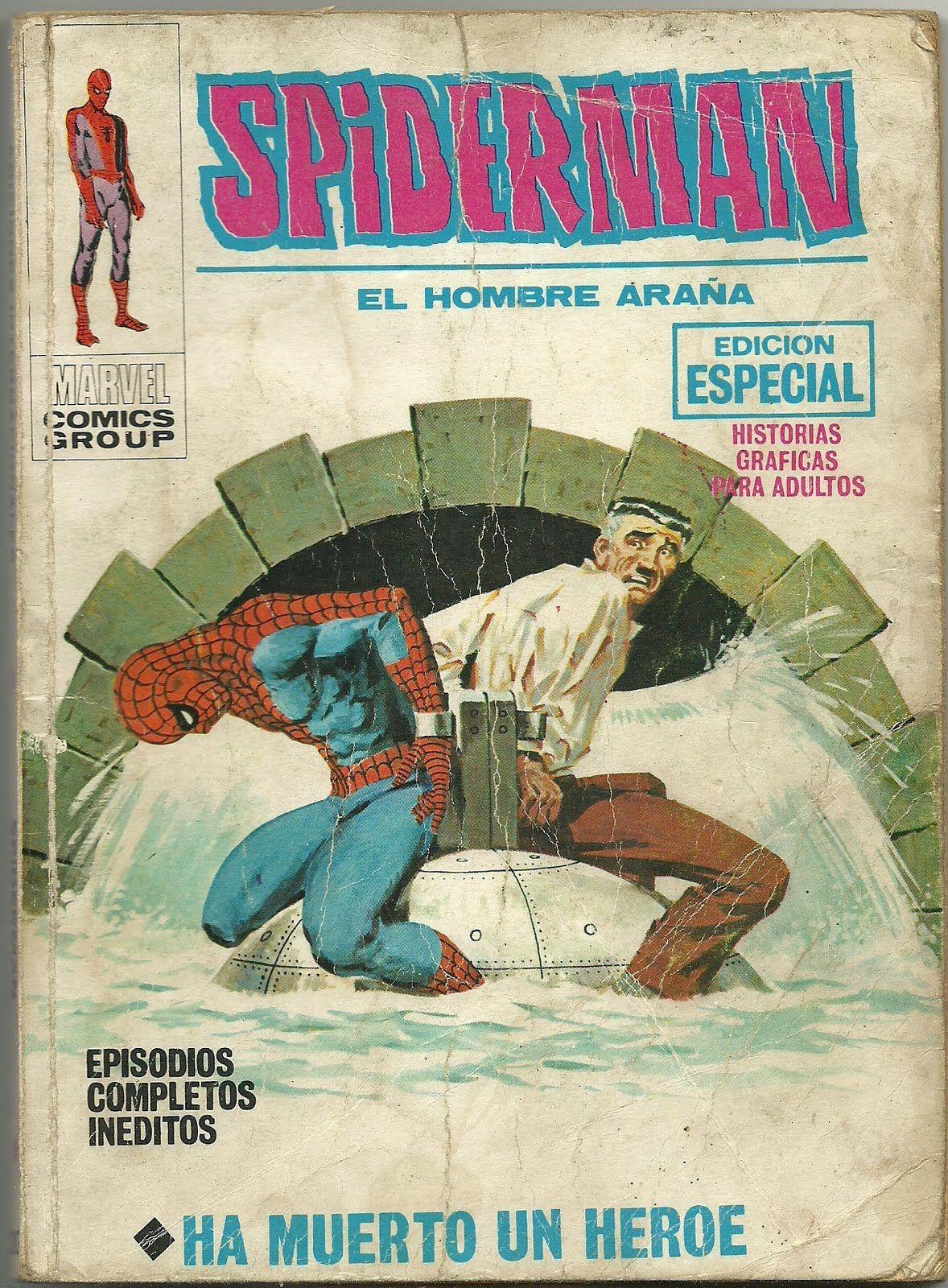 Tebeos Comics Y Otros Sucedaneos En Mis Estanterias Spiderman Tomo Vertice 20 Cómics Spiderman Comics Vintage
