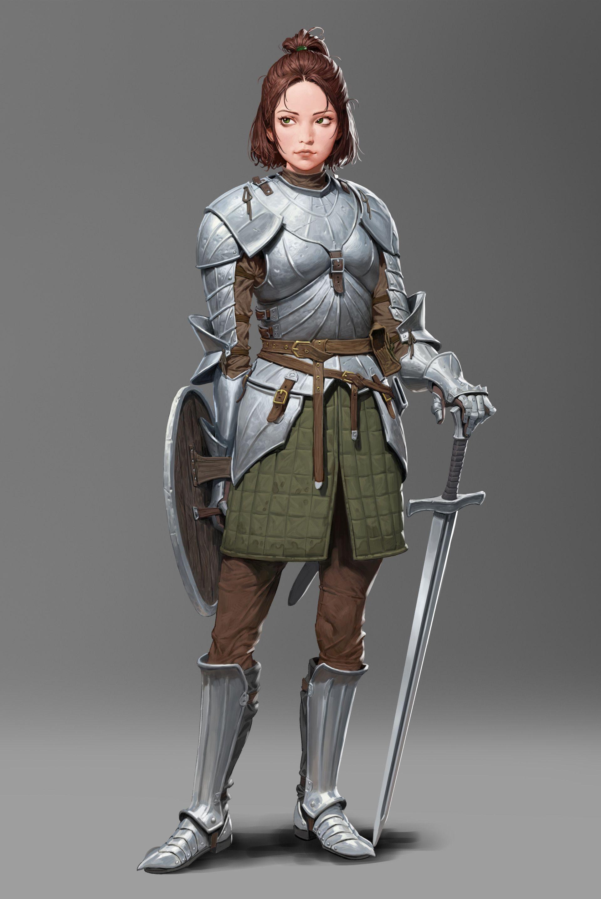 Pin de Shaun Gore en Warrior Female | Dise?o de personajes, Personajes de  fantasía, Dise?o de personajes de fantasía