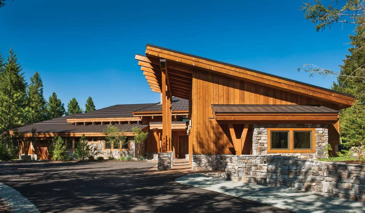 Suncadia, Washington Timber Home PrecisionCraft Log and