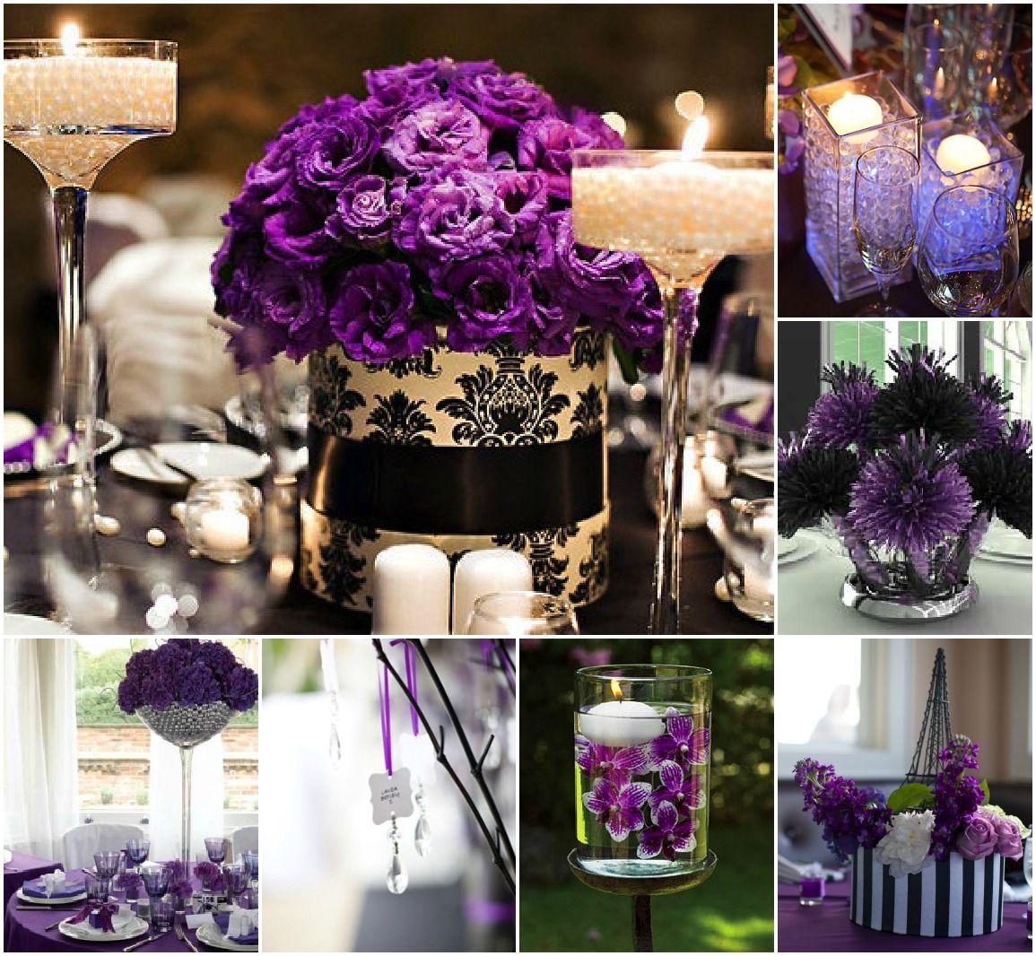 Black And Purple Wedding Ideas: Purple + Black Inspiration