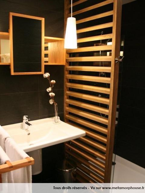 Photos décoration de Salle de bain Moderne/Design Art Déco Noir ...
