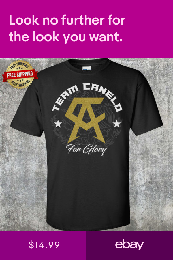 T Shirts Clothing Shoes Accessories Ebay Canelo T Shirts Metallic Gold And Black Shirts