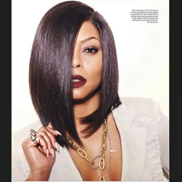 Taraji P Henson Bob Hair Do