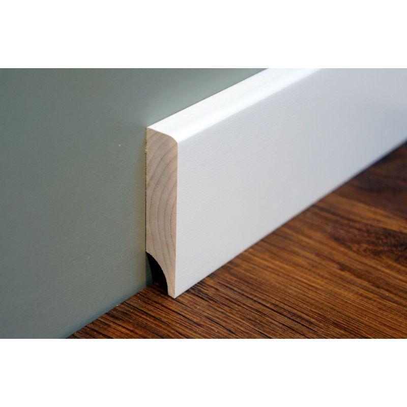 fu leisten sockelleisten birke massiv 15x70 x 2400 mm profil mit kleinem radius wei. Black Bedroom Furniture Sets. Home Design Ideas