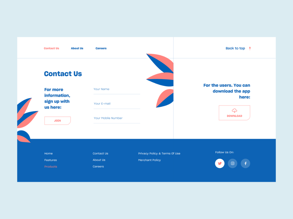 Contact Us In 2020 Web Design Contact Us Page Design Simple Web Design