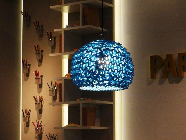 Luminária Tricô, da Eko Ambientes