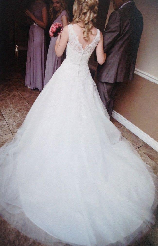 66b33aa551d8 Justin Alexander, 8630 Tulle Size 6 Wedding Dress For Sale   Still White  United Kingdom