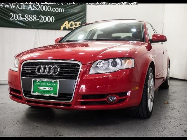 2007 Audi A4 Awd 2 0t Quattro 4dr Sedan 2l I4 6m In Seymour Ct