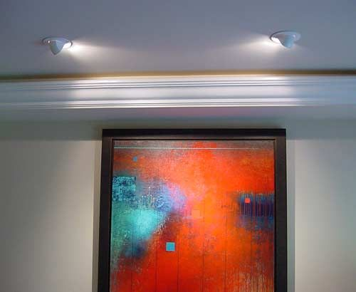 Adjustable recessed lighting trims to display artwork in its best light : best lighting for artwork - azcodes.com