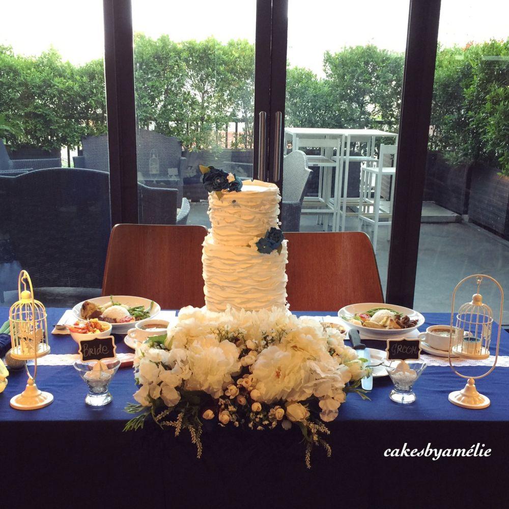Foto kue pernikahan oleh Cakes by Amélie (Dengan gambar