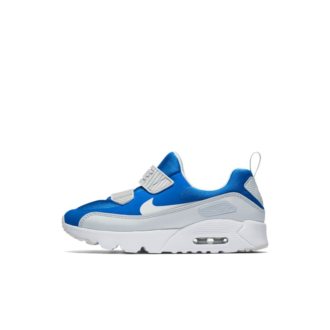 f1084f7f566 Nike Air Max Tiny 90 Little Kids  Shoe Size 2.5Y (Pure Platinum ...