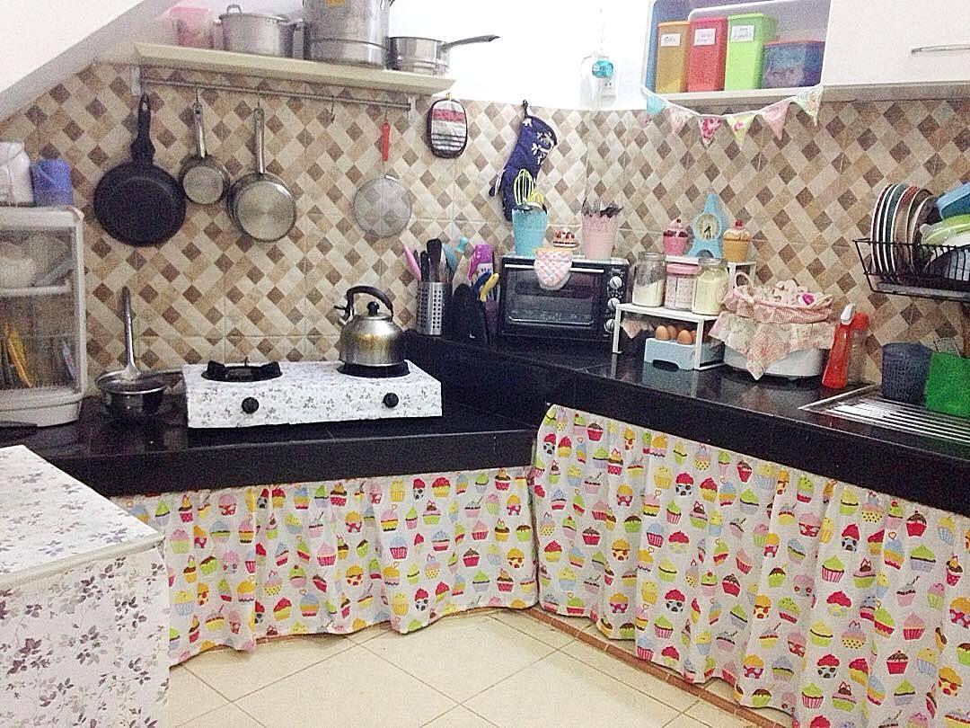 Kitchen Set Sederhana Dapur Rumah Buatan Sendiri Desain Dapur