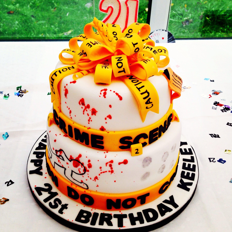 21st Forensic Birthday Cake 21st Forensic Cake Science Cake Wedding Cake Model