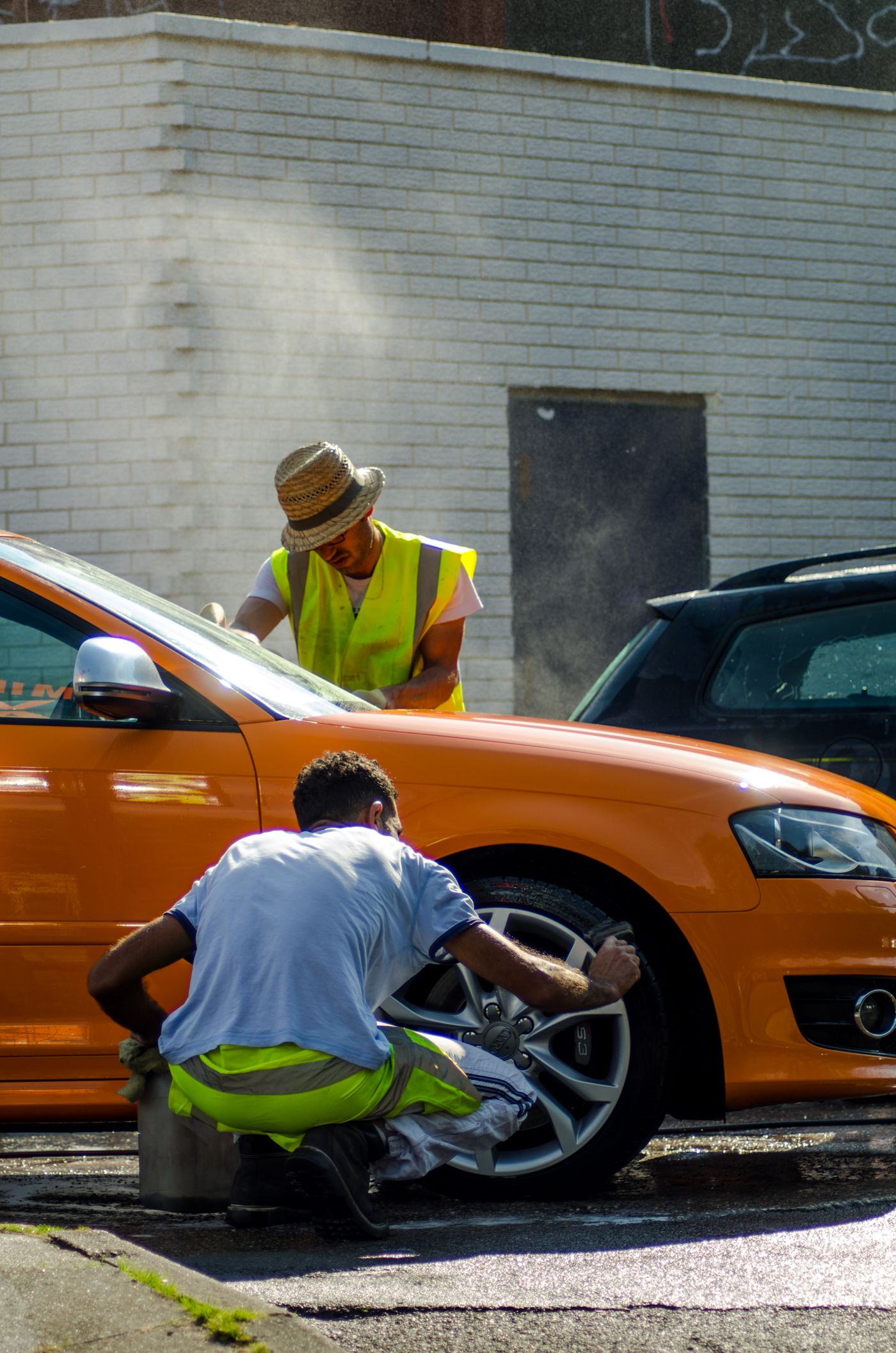 Down at the car wash car wash car photo