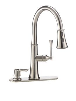 Cuisinart Cassandra Brushed Nickel Pull Down Kitchen Faucet