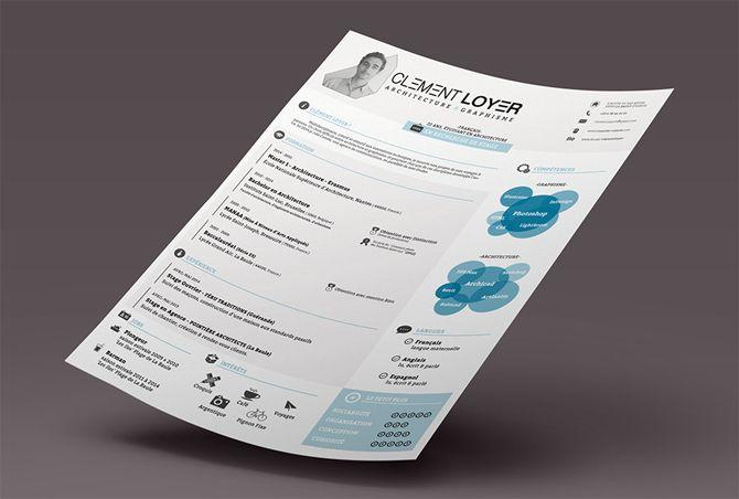 40 Best 2018\u0027s Creative Resume/CV Templates Free printable resume