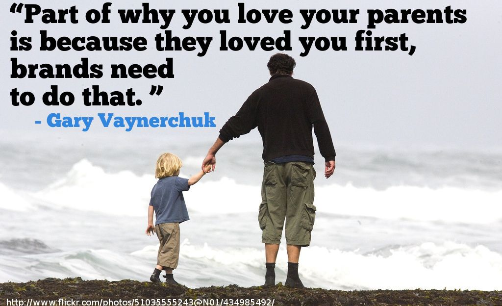 Part of why you love your parents is because they loved
