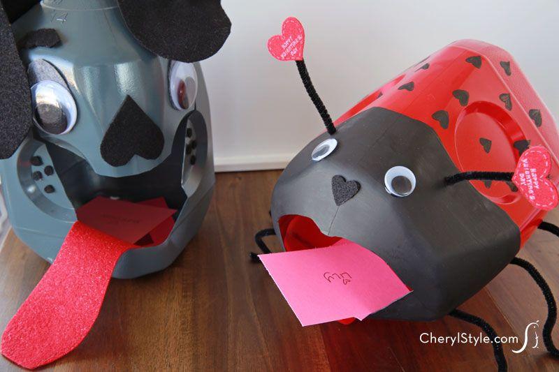Top 25 ideas about Valentine Box ideas – Valentine Card Box