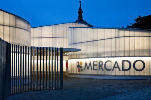 nieto sobejano arquitectos mercado temporal barcel madrid spain