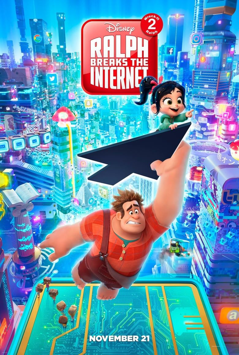 Ralph Breaks the Internet (2018) FULL MOVIE Online Free ...