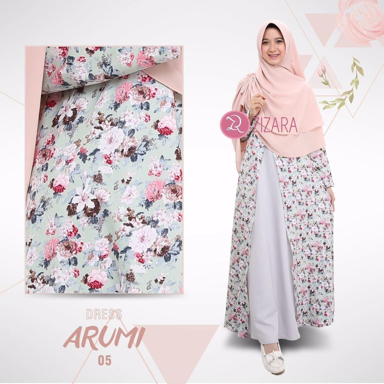 Gamis Zizara Arumi Dress 12 - baju muslimah busana muslim Kini