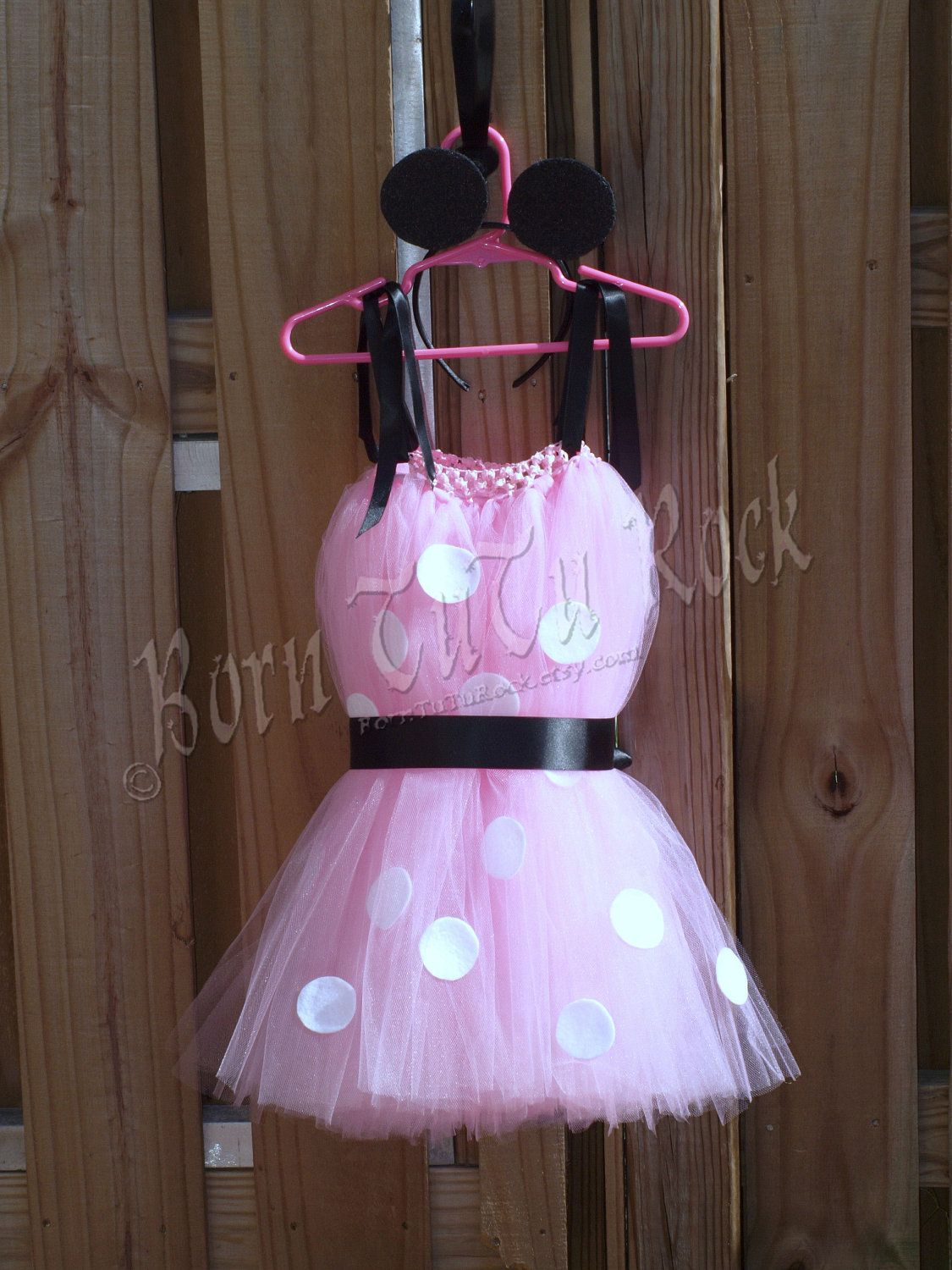 Pretty Lil\' Mouse Set : Minnie Inspired Tulle Dress l TuTu l ...
