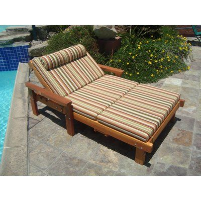 Thibeault Wheel Wide Chaise Lounge With Arms Finish Super Deck Http Delanico Com Chaise Lou Diy Deck Furniture Patio Lounge Furniture Lounge Chair Outdoor
