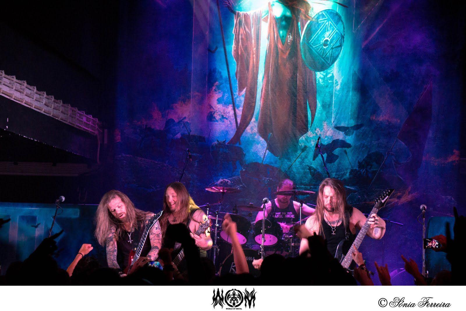 Fotorreportagem Týr @ 25/09/16 - RCA Club, Lisboa - World Of Metal