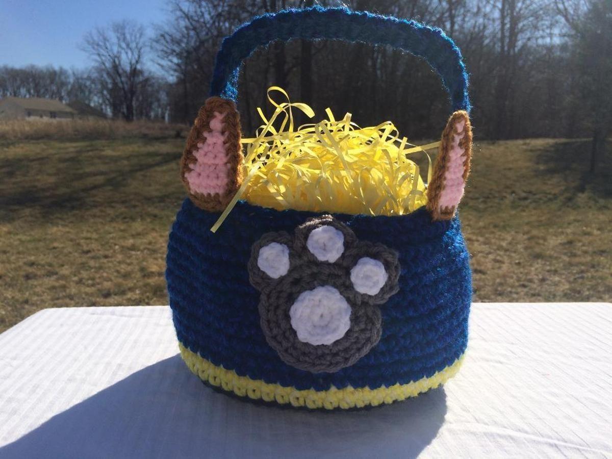 Paw Patrol Easter/Halloween Basket | Halloween baskets and Paw patrol