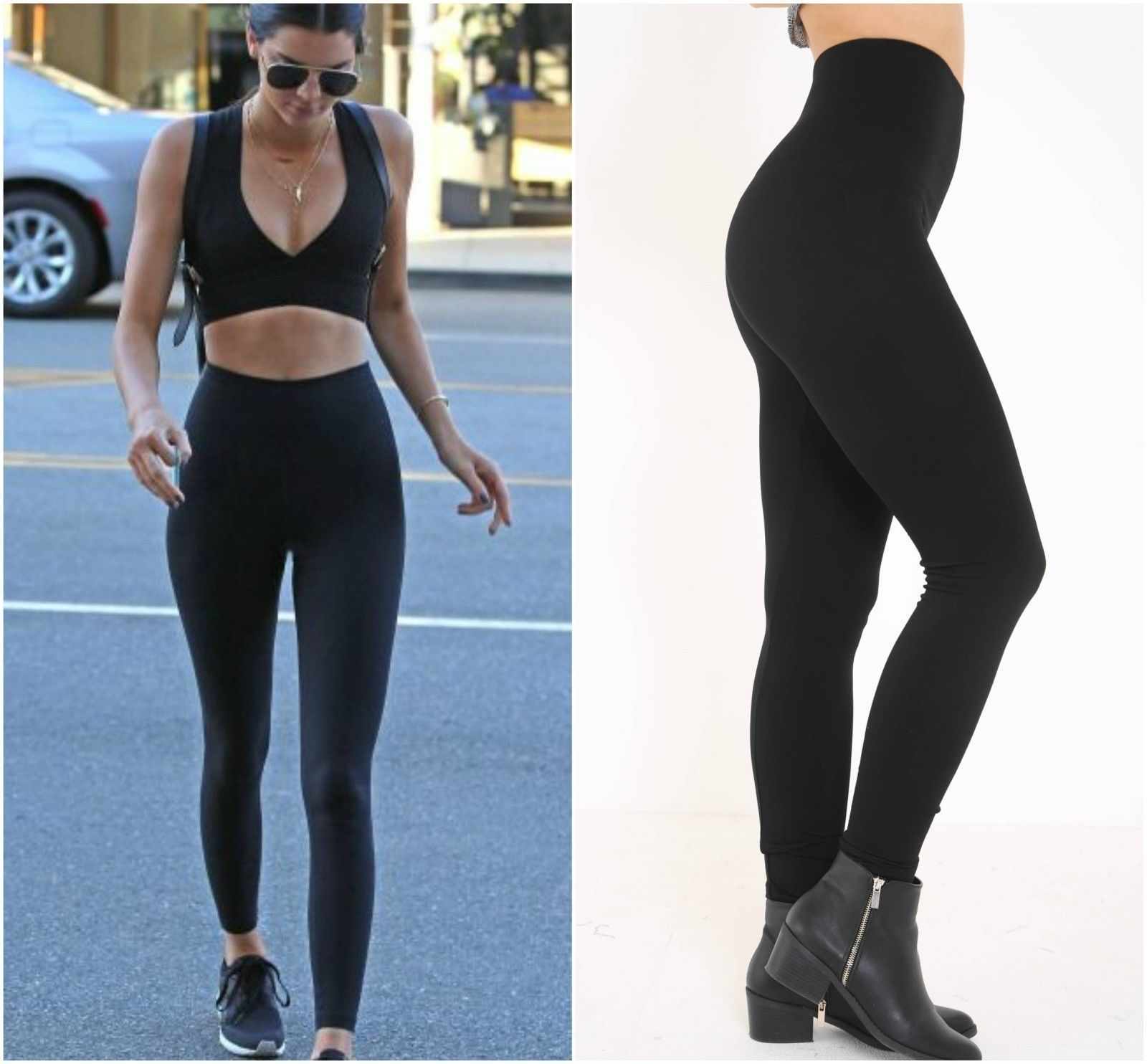 Control Slimming Shapewear Leggings Seamless High Waisted Tummy Support