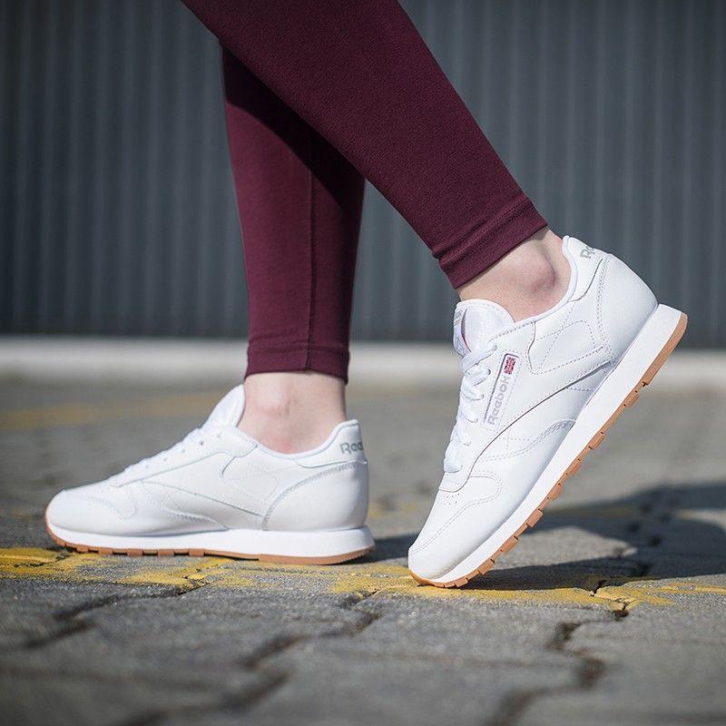 Reebok Cl Lthr 319 99 Zl Buty Lifestyle Damskie 49803 Reebok Shoes White Sneaker