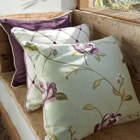 Tatton Fabric Collection (source Clarke & Clarke) / Wallpaper Australia /  The Ivory Tower. Custom PillowsThe ...