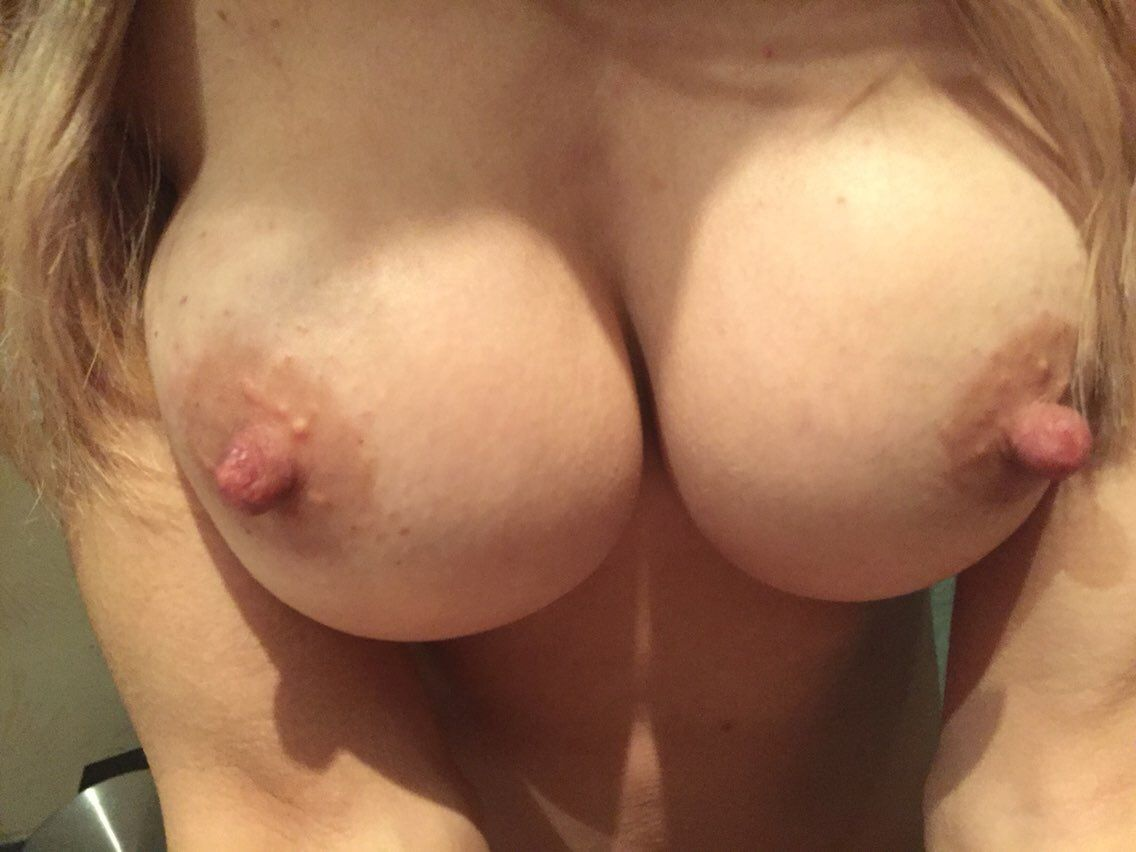 "couple-o-freaks: ""My wife !! Wow! Great breasts."""
