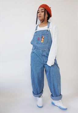 d6b07bcd3962b Vintage Winnie the Pooh long dungarees / overalls | CLOTHES in 2019 ...