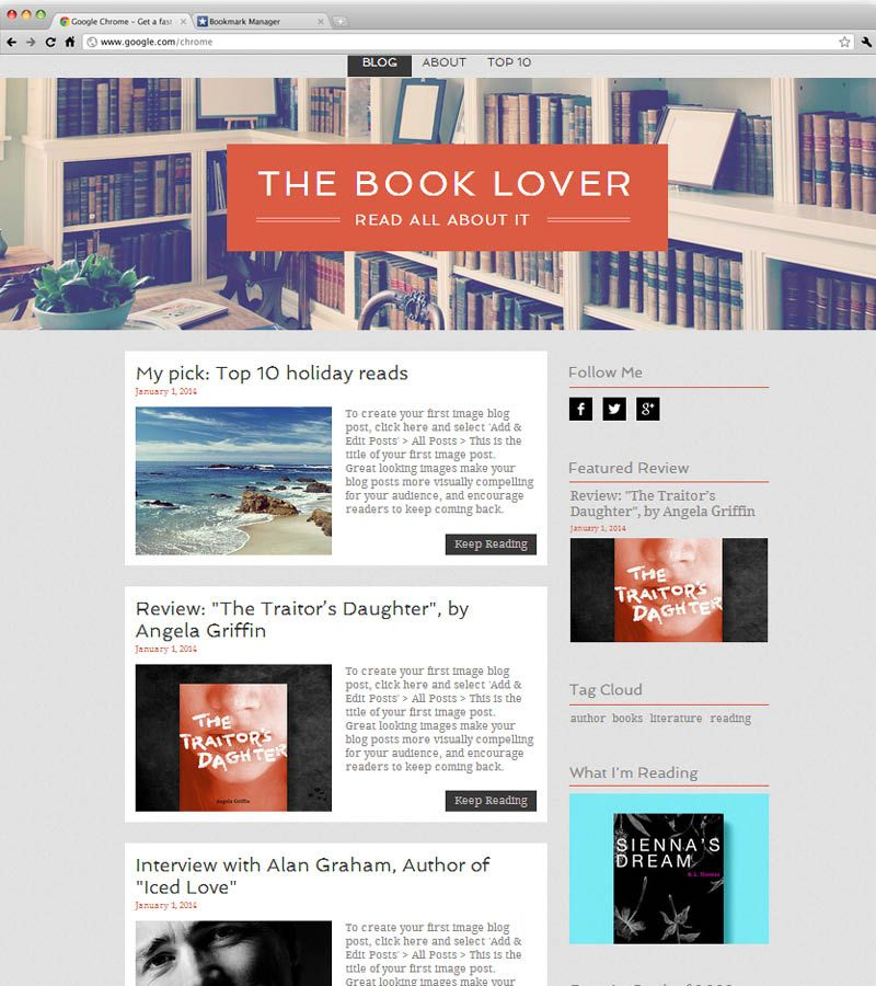 Blog Website Templates Literature Blog  Wix Website Templates  Pinterest  Literature
