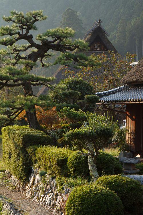 Japanese garden garden landscape terrarium for Japanische terrasse